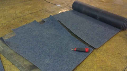 Текстильные автомобильные коврики