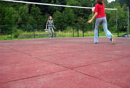 Идеальное покрытие для спортивных площадок