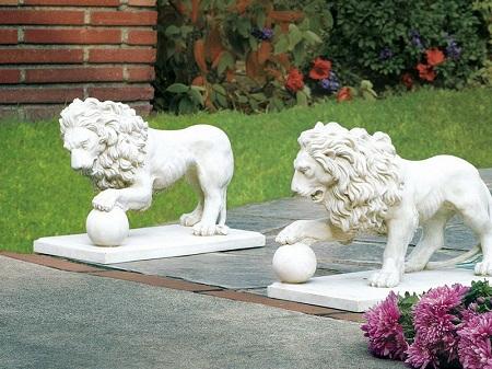Эксклюзивные фигуры, выполненные на пару со скульптором