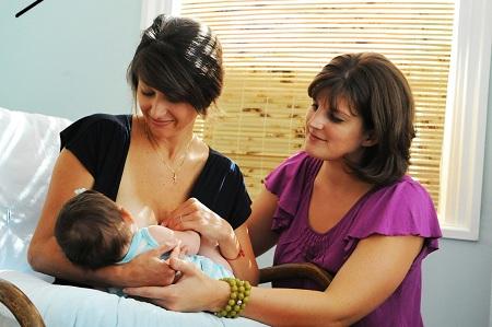 Часто только консультант может помочь матери