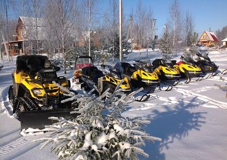Покупка снегоходов требует больших вложений