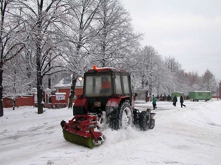 Самый главный в деревне зимой