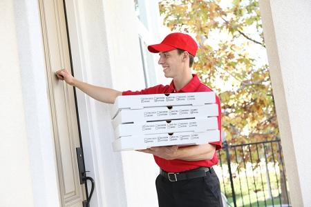 Очень важно вовремя доставить пиццу