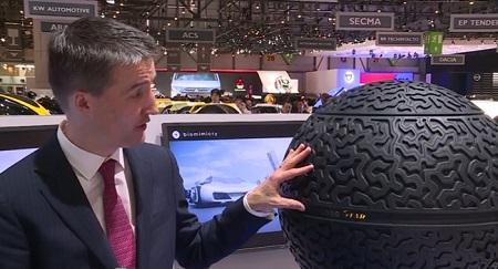 Вот так выглядят шины будущего