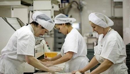 Пекари за работой