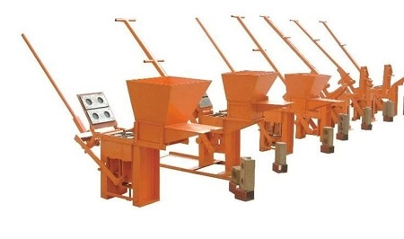 Ручной станок для производства лего-кирпича