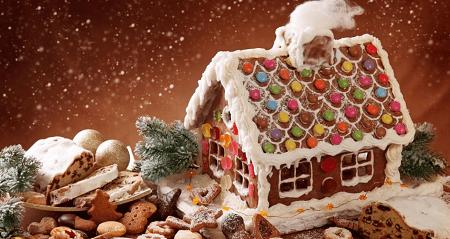 Пряничный домик к Рождеству и Новому году
