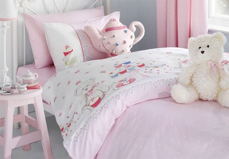 Детское постельное белье не менее популярно взрослого
