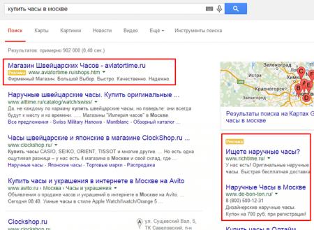 Таргетированная реклама в Google