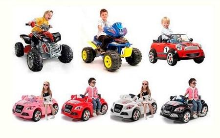 Прокат детских электромобилей