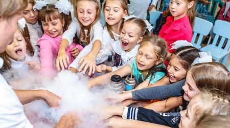 Научно-познавательные шоу для детей