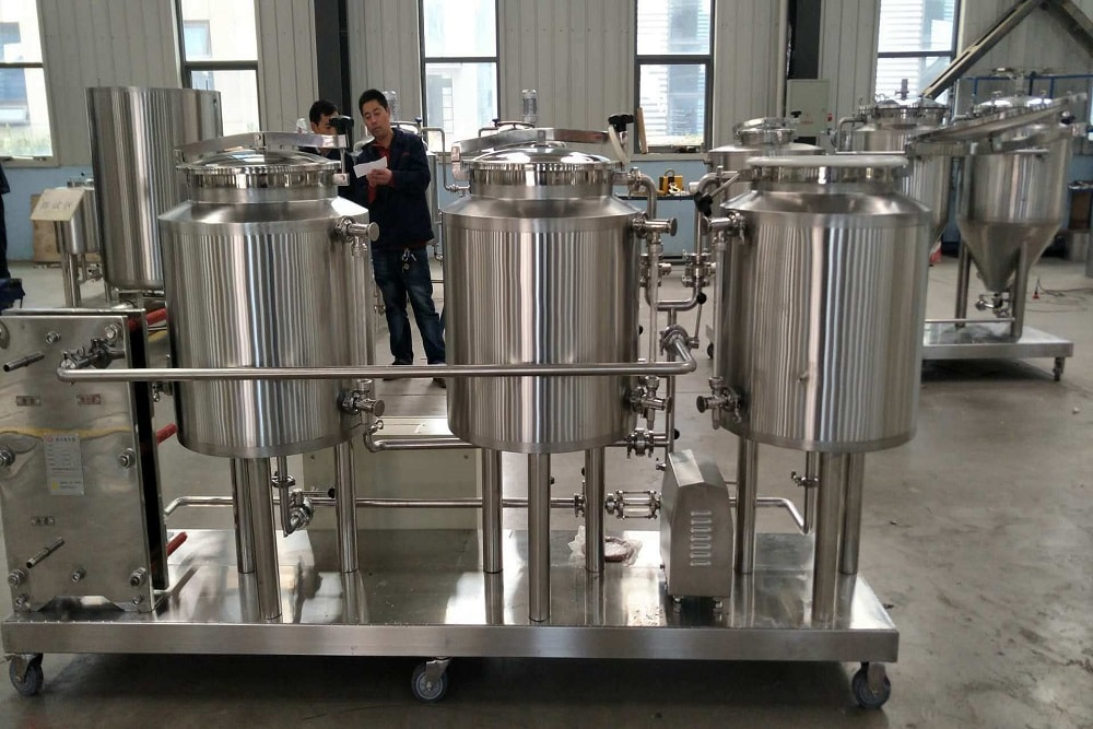 Пивоварня из Китая