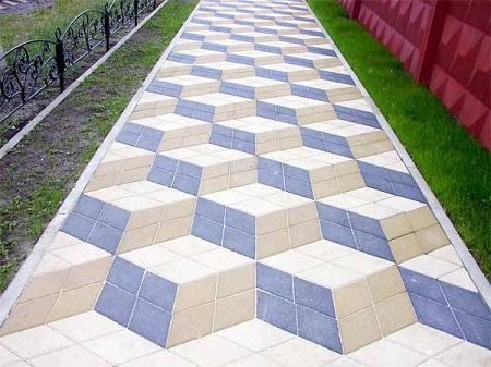 3д тротуарная плитка цена фото