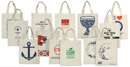 Эко-сумки сегодня - популярный корпоративный продукт