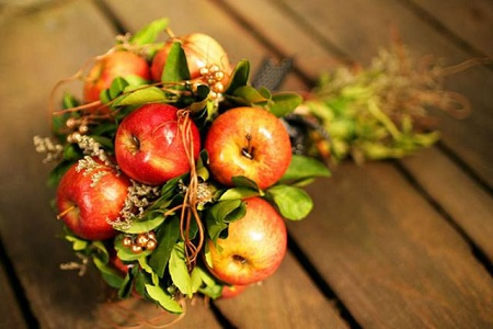 Осенний букет взамен банальных хризантем или роз