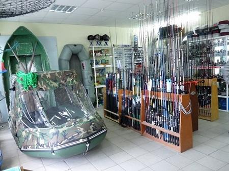 Магазин рыболовных товаров - хороший способ дополнительного заработка