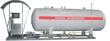 Каждая АЗС имеет свое оборудование в зависимости от вида топлива