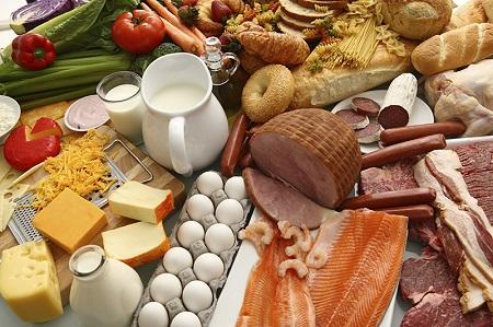 Необходимые продукты для качественного питания