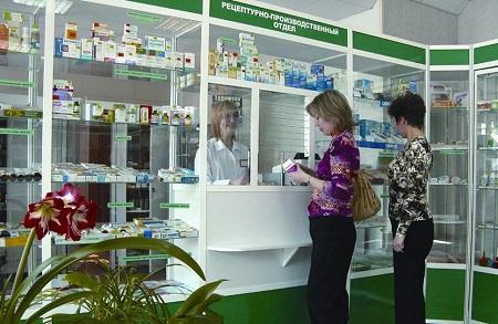 Аптека в маленьком городе