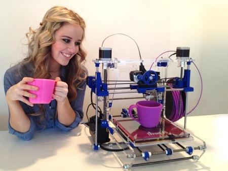 Бизнес с помощью 3D принтера