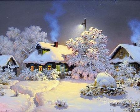 Бизнес зимой на селе