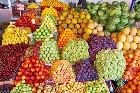 Продажа фруктов и овощей