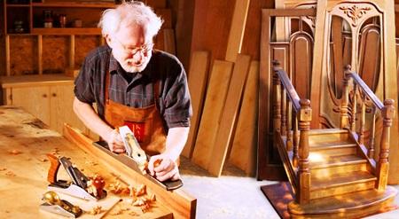 Производство лестниц на дому