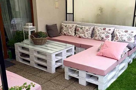Производство мебели из паллет