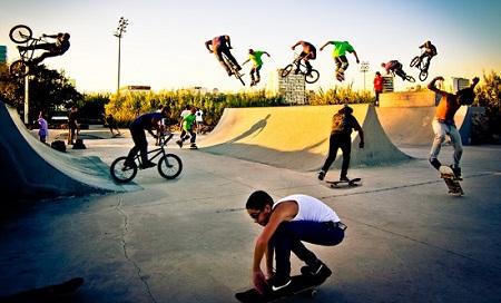 Открыть скейт парк