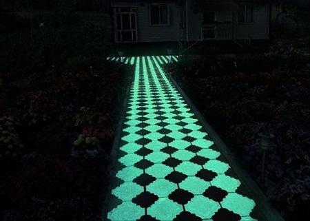 Светящаяся плитка